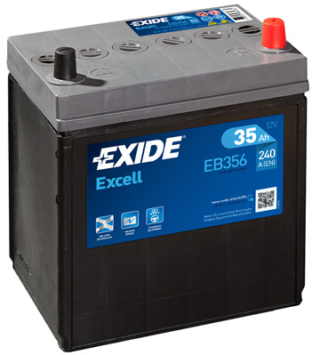 АКУМУЛАТОР EXIDE EXCELL 35AH EXIDE