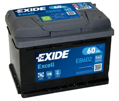АКУМУЛАТОР EXIDE EXCELL 60AH EXIDE