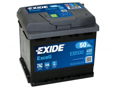 АКУМУЛАТОР EXIDE EXCELL 50AH EXIDE