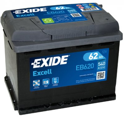 АКУМУЛАТОР EXIDE EXCELL 62AH EXIDE