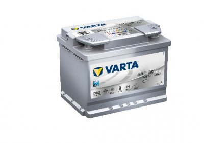 АКУМУЛАТОР VARTA SILVER DYNAMIC AGM 60AH - START STOP PLUS VARTA