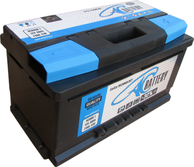 ACBATTERY ACB080-1 80AH R+ 740A AC BATTERY