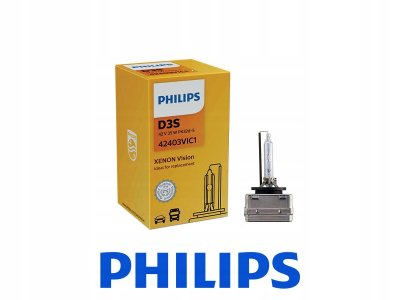 КРУШКА XENON D3S Vision 42V 35W PK32d-5 PHILIPS