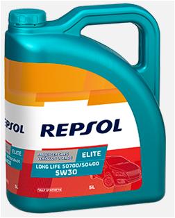 REPSOL ELITE EVOLUTION LONG LIFE 50700/50400 5W-30 5L REPSOL