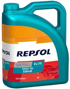 REPSOL ELITE 50501 TDI 5W-40 5L REPSOL