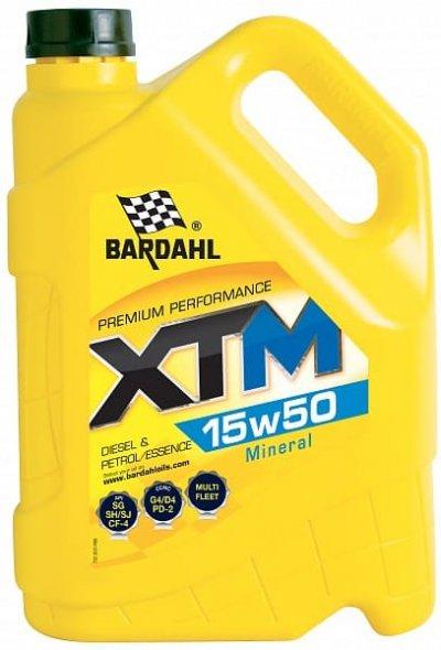Bardahl  XTM 15W-50 5L BARDAHL