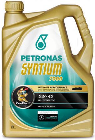 PETRONAS SYNTIUM 7000 0W-40 - 5L PETRONAS