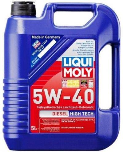 LIQUI MOLY DIESEL HT 5W-40 5L LIQUI MOLY