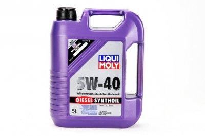 LIQUI MOLY DIESEL SYNTHOIL 5W-40 5L LIQUI MOLY