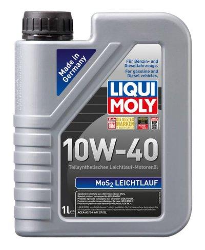 LIQUI MOLY MOS2 LEICHTLAUF 10W-40  1L LIQUI MOLY