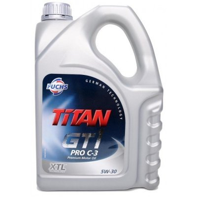 TITAN GT1 PRO C-3 5W-30 XTL 5l FUCHS