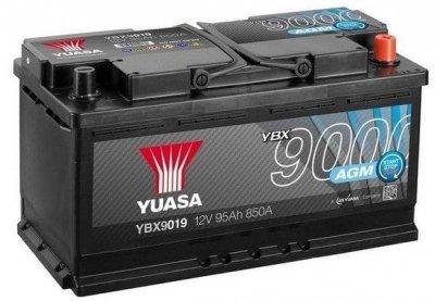 АКУМУЛАТОР YUASA 95AH R+ AGM START STOP PLUS BATTERIES YUASA