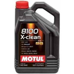 MOTUL 8100 X-CLEAN 5W-40 5L MOTUL