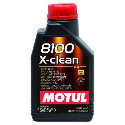MOTUL 8100 X-CLEAN 5W-40 1L MOTUL