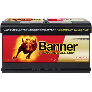 BANNER RUNNING BULL AGM 92AH 850A R+