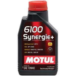 MOTUL 6100 SYNERGIE+ 10W-40 1L MOTUL