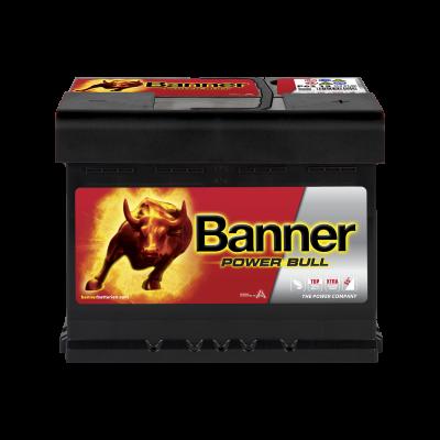 BANNER POWER BULL 62AH 550A R+ BANNER