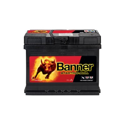 BANNER STARTING BULL 62AH 510A R+ BANNER