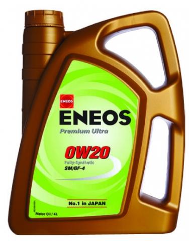 ENEOS PREMIUM ULTRA 0W-20 4L ENEOS