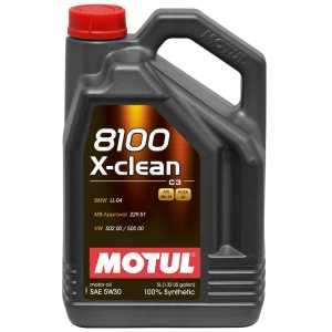 MOTUL 8100 X-CLEAN 5W-30 5L MOTUL