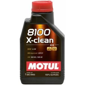 MOTUL 8100 X-CLEAN 5W-30 1L MOTUL