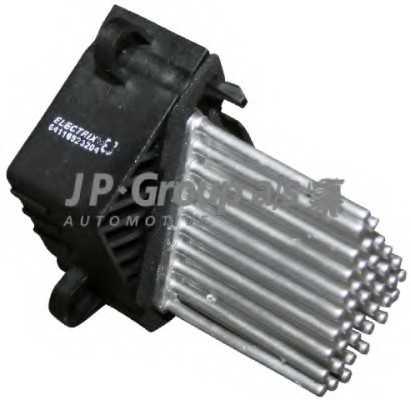 съпротивление, вентилатор за вътрешно пространство JP GROUP