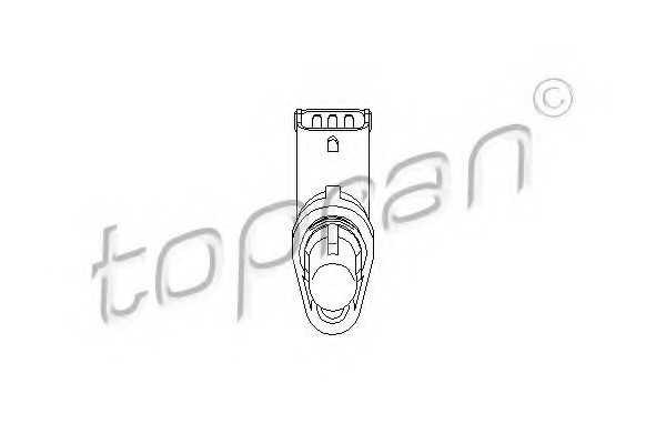 датчик обороти, управление на двигателя TOPRAN