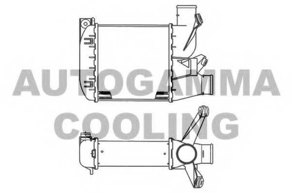 интеркулер (охладител за въздуха на турбината) AUTOGAMMA
