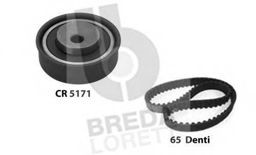 комплект ангренажен ремък BREDA  LORETT