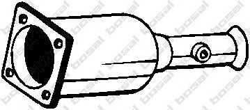 филтър за сажди/твърди частици, изпускателна система BOSAL