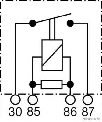 реле, работен ток| мулти функционално реле HERTH+BUSS ELPARTS