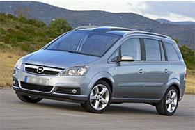 Opel ZAFIRA B (A05) 1.8
