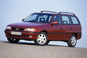 Opel ASTRA F комби (51_, 52_) 1.6 i