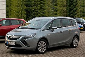 Opel ZAFIRA TOURER C (P12) 1.6 CNG