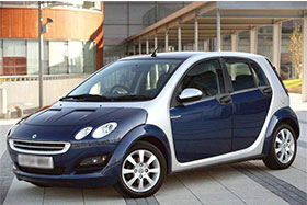 Smart FORFOUR (454) 1.1 (454.030)