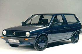 Volkswagen POLO купе (86C, 80) 1.3 D